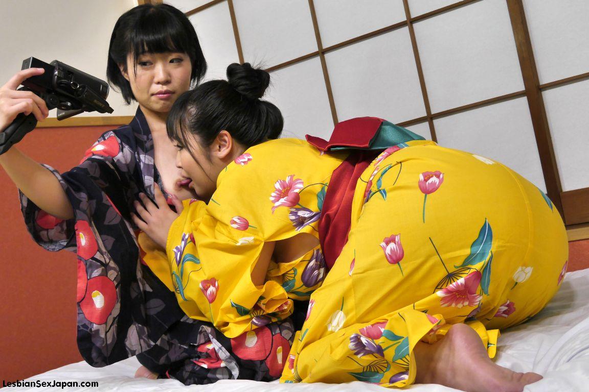 Japanese Lesbian Step Mother